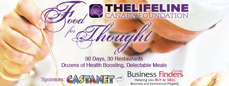 Food for Thought, The LifeLine Canada Foundation